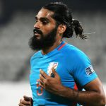 Ahead of the 2022 FIFA World Cup qualifier against Bangladesh last month, India played a practice game against NorthEast United FC where Jhingan twisted his knee