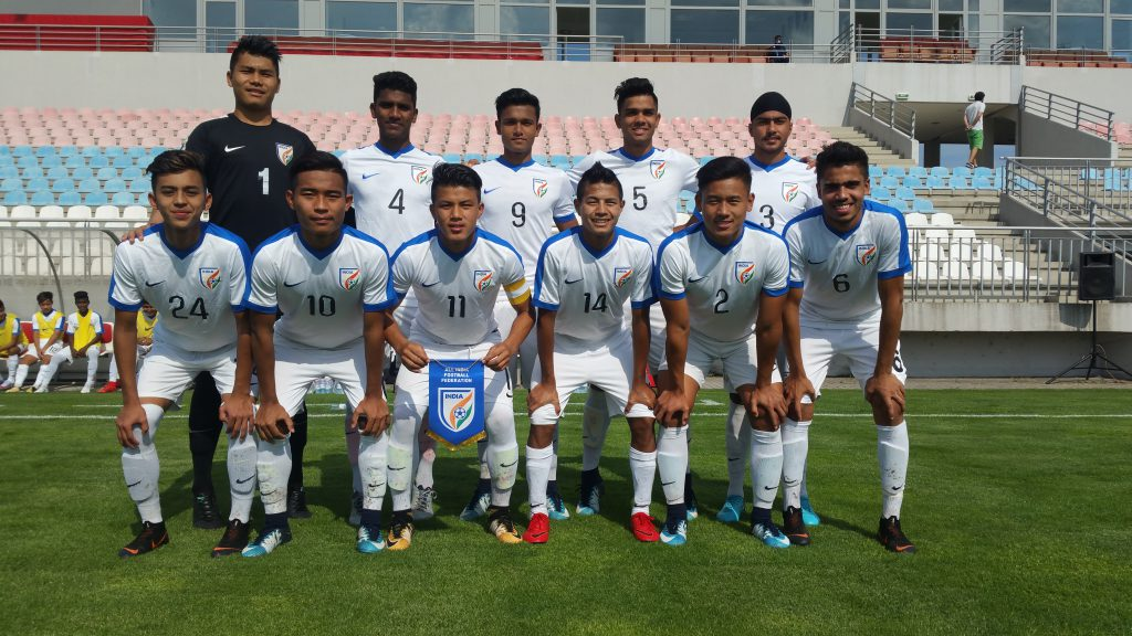 With wins against Jordan and Tajikistan along with a draw against host serbia, Indian colts were declared champions of the 4-nation Tournament