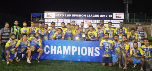 Real Kashmir FC have secured promotion to the Hero I-League, having clinched the 2017/18 Hero 2nd Division League title on Wednesday (May 30, 2018).