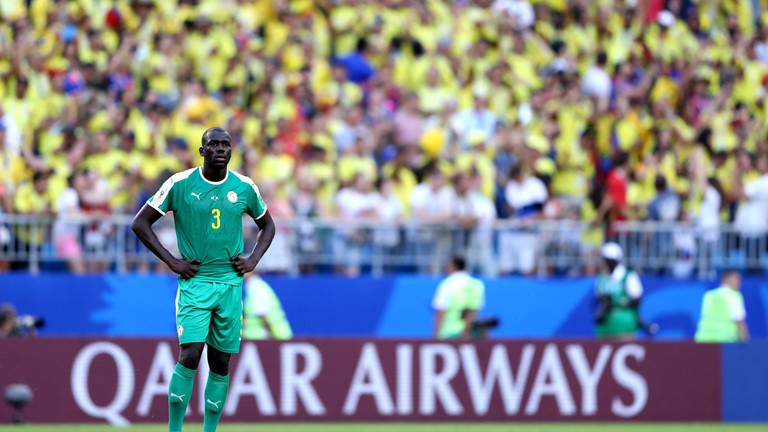 Heartbreak of elimination for Senegal