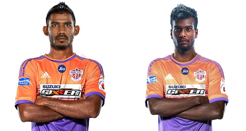FC Pune City sign Gabriel and Shankar