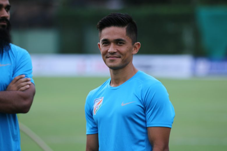 National Team Captain Sunil Chhetri has always been a player whom the youngsters look up to and the lynchpin has always delivered to the team's cause.