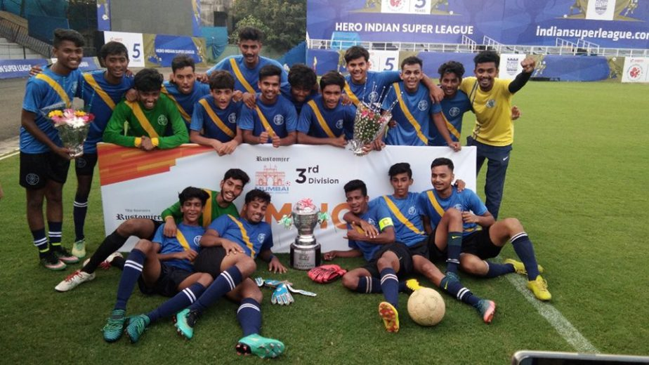 In case you don't know already, relative newcomers or people of outside Mumbai Football circuit, Footie First FC were recently crowned champions
