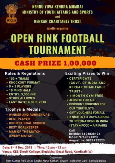 Open Rink Football Tournament