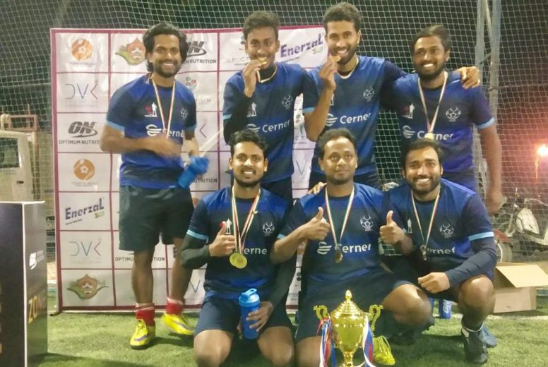 Cerner A lifts Inaugural edition of Optimum Nutrition Corporate Masters Cup 2018 Bengaluru Leg