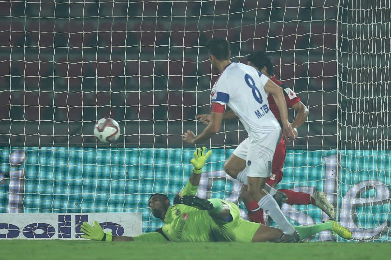 NorthEast United FC were left to rue missed chances, particularly at the end, as they settled for a 1-1 draw against Delhi Dynamos FC in a Hero Indian Super League (ISL) clash