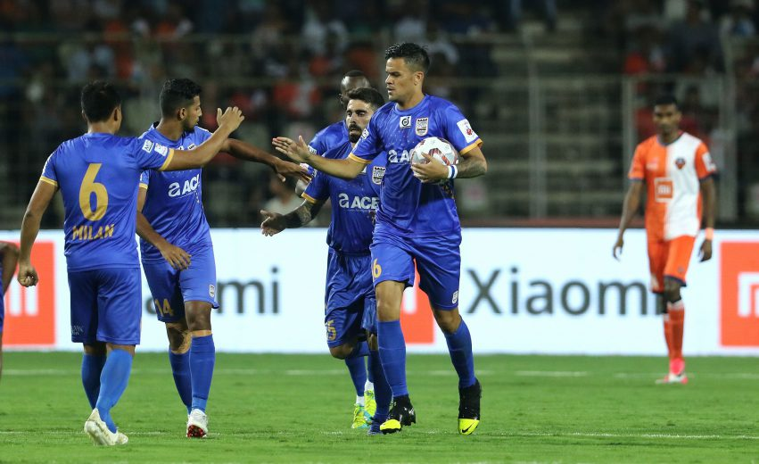 Bastos strike in Mumbai win in vain as Goa progress to final on aggregate