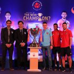 during the pre final press conference held at the Courtyard Marriot hotel in Mumbai, India on the 16th March 2019 Photo by: Ron Gaunt /SPORTZPICS for ISL