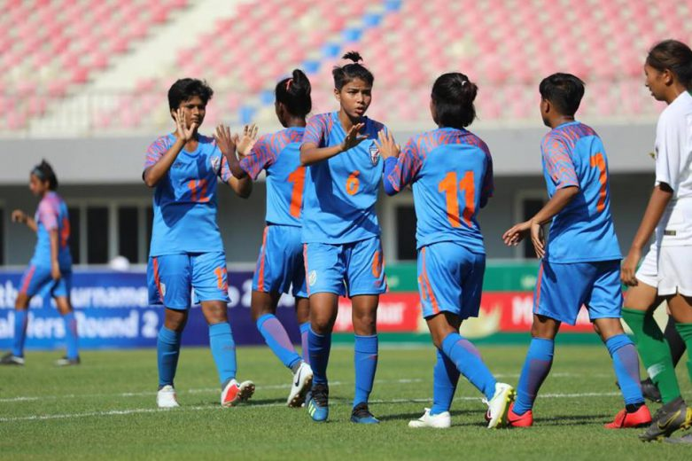 The Indian Women's National Team took bold steps towards the next round of the 2020 Olympics Tokyo after registering a 2-0 win over Indonesia