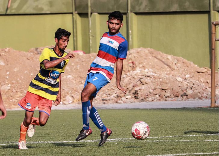 For the first time in two decades, Mumbai Customs have managed to reach the finals of Mumbai Football's top division