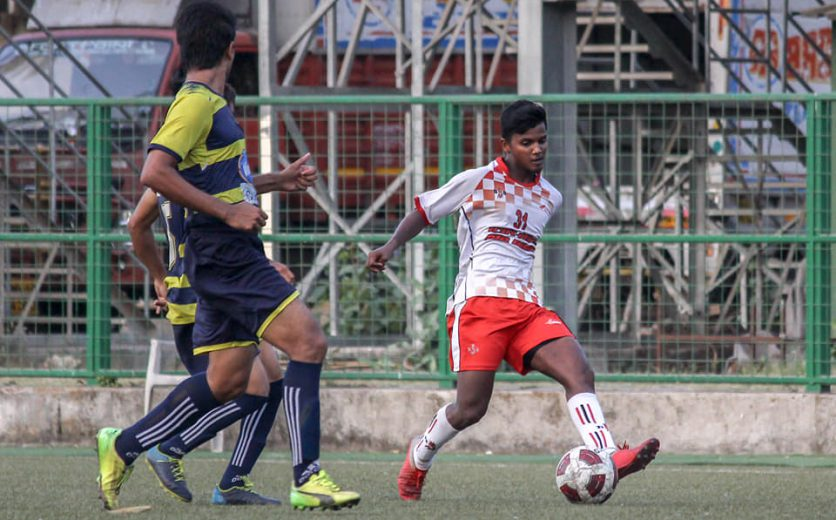 5th May 2019, Mumbai: On Saturday evening, the mighty Air India took on Mumbai Customs in the MDFA Elite Division Final at the Cooperage Stadium in front of a packed stadium.