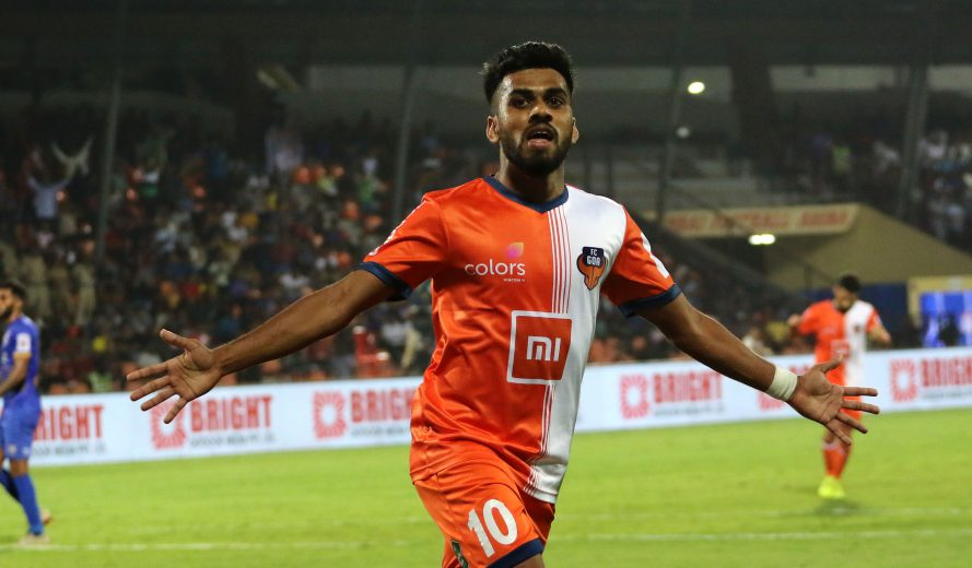 FC Goa is pleased to announce that Brandon Fernandes has signed a three-year extension with the club. The deal will keep the no. 10 in Goa until the end of the 2021/22 season.