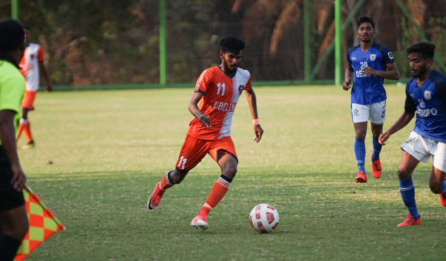 Goa, June 2019: Midfielder Princeton Rebello has signed a new long-term contract with the club, keeping him at FC Goa till the summer of 2022.