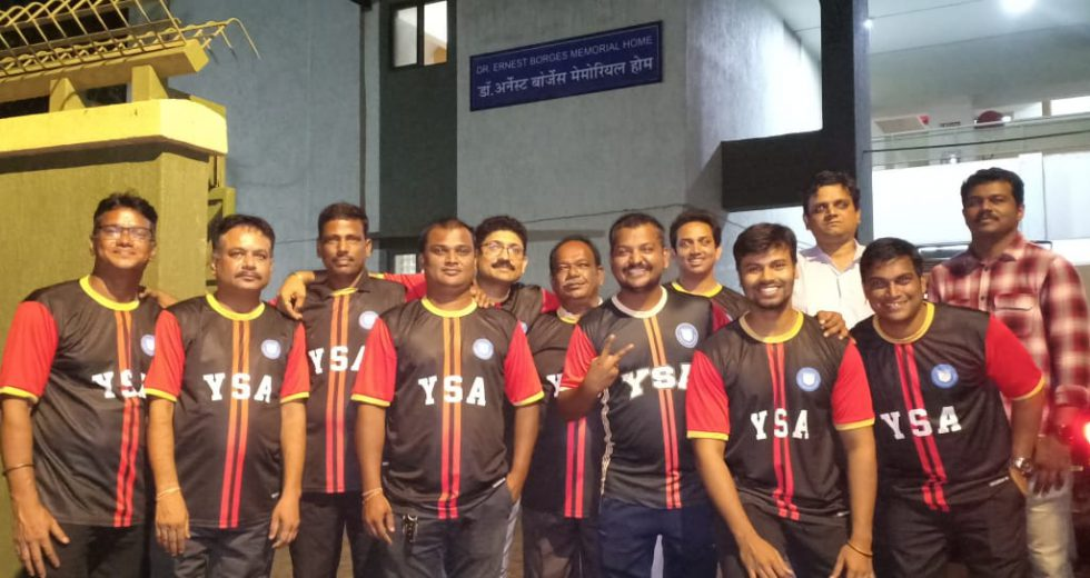 After a successful football season, where the YSA reached till the final rounds of All India Youth leagues, the club is now leading the way off the field