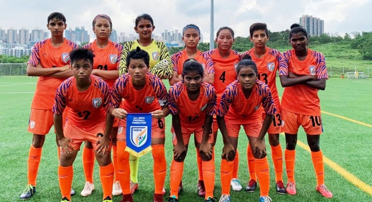 India U17 Women's National Team ran riot to register a 5-1 win against Hong Kong U23 Women's National Team in their first match at the Hong Kong FA Centre
