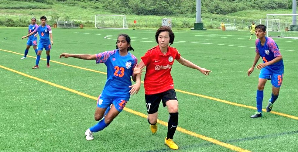 The India U-17 Women's Team marched on to their second victory in as many matches in Hong Kong, after they beat Taipo TBC by a healthy margin of 4-0 on Sunday, June 23, 2019.