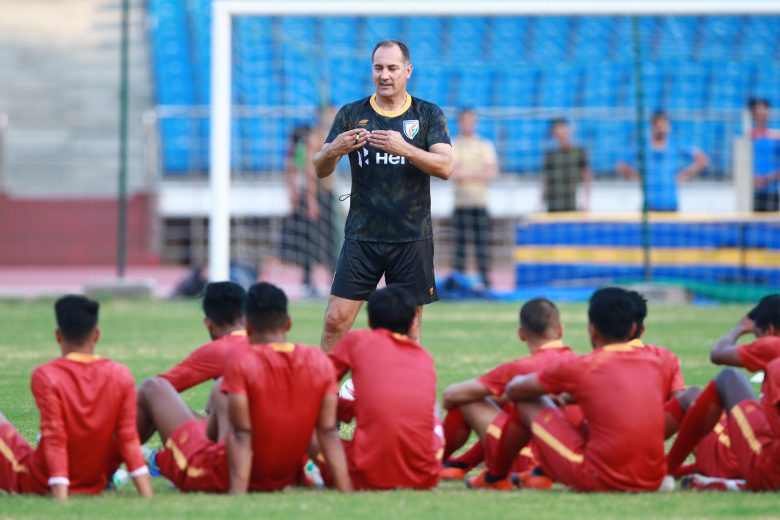 "India National Team coach Igor Stimac revealed that the team ""are very happy"" to have got a chance to play a friendly match against Northeast United FC"