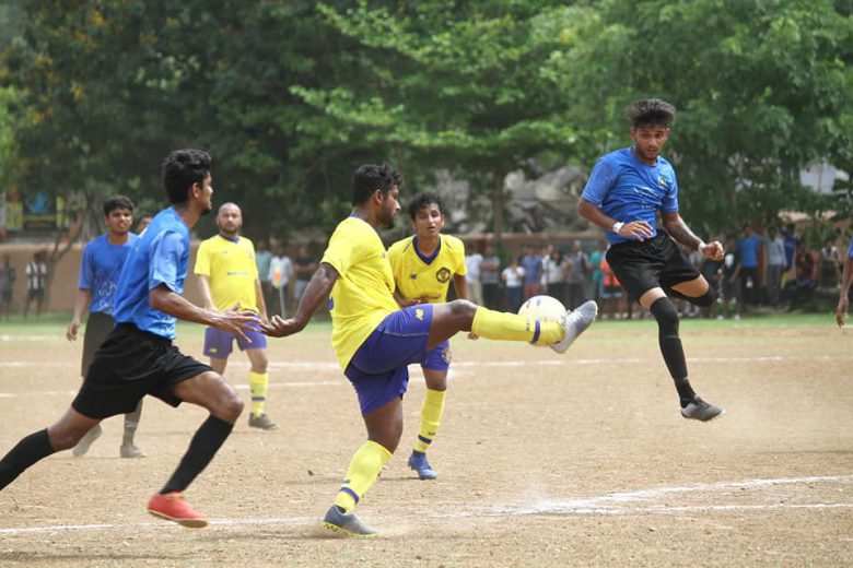 Day 2 saw Milan Club and Vibrant FC start off their respective campaigns with a win while Friends United and Kajupada FC shared the spoils with a draw.