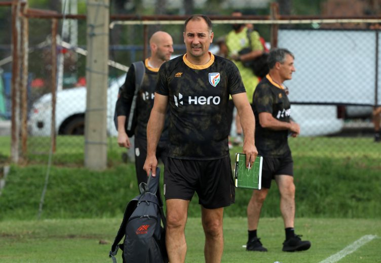 """With the Indian Senior National Men's Team assembling in Mumbai for the preparatory camp for the forthcoming Hero Intercontinental Cup, Head Coach Igor Stimac mentioned that he is """"looking forward"""" to see how the boys have worked on their individual working programmes."""
