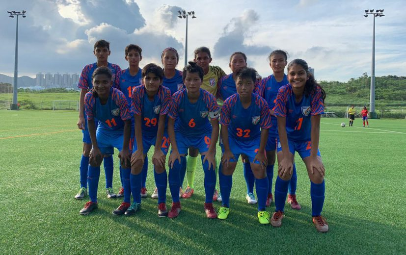 The India U-17 Women's Team continued its winning run in Hong Kong, earning its third 4-goal victory in a row, with a 5-1 win against Citizen AA on Thursday (June 27, 2019).