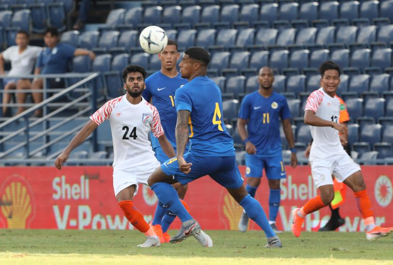 As many as six players made their National Team debut in the King's Cup in Thailand under Head Coach Igor Stimac. One of them was Brandon Fernandes