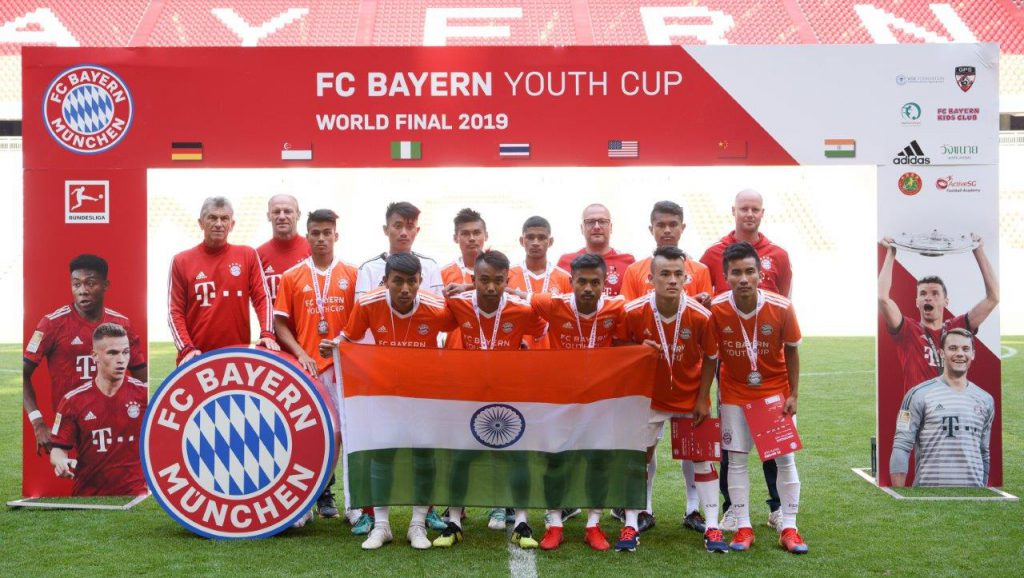 The Army Boys Sports School, Bengaluru represented India at the Adidas FC Bayern Youth Cup World Finals in Munich to finish sixth in the tournament