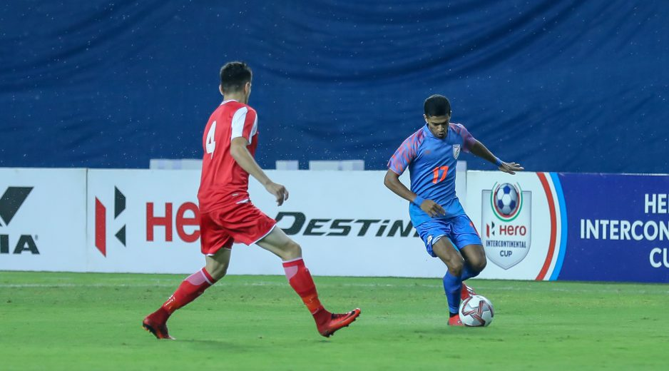 Two players took their senior national team bows during the game against Tajikistan, one of them being the vastly-experienced Mandar Rao Dessai.