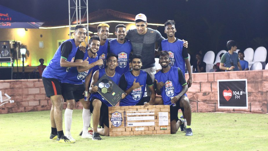 Kalina Rangers, who had earlier won the Red Bull Neymar Jr's Five national finals is off to Brazil, where the team will be representing India in the world finals