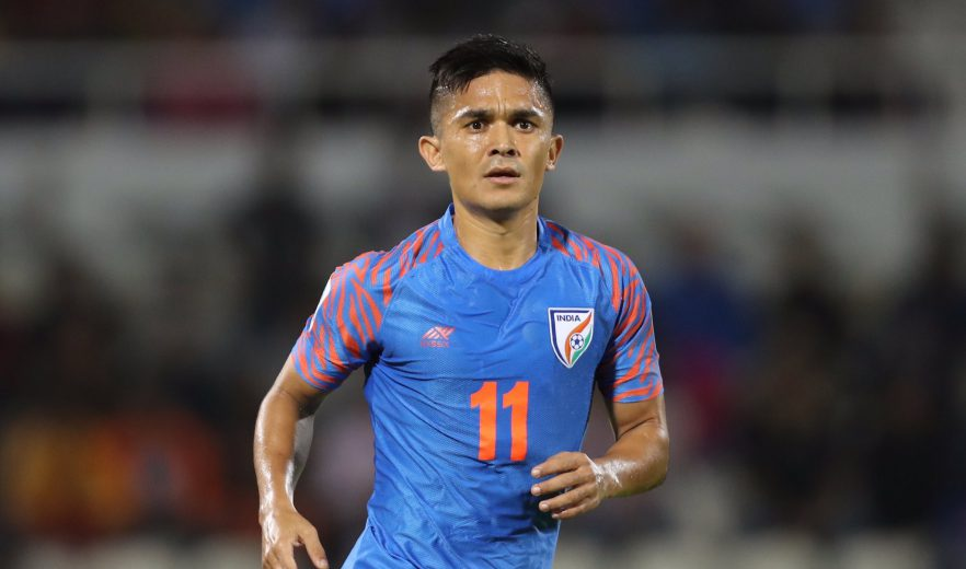 AIFF President Mr. Praful Patel announced iconic National team striker Sunil Chhetri as the AIFF Men's Footballer of the Year 2018-19 at the AIFF Executive Committee Meeting in the Capital today.