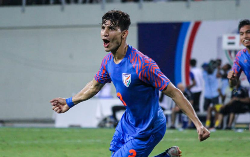 18-year-old Narender Gahlot's 51st-minute header was cancelled out by Firas Al-Khatib's 78th-minute penalty kick as both India and Syria shared the spoils of the battle