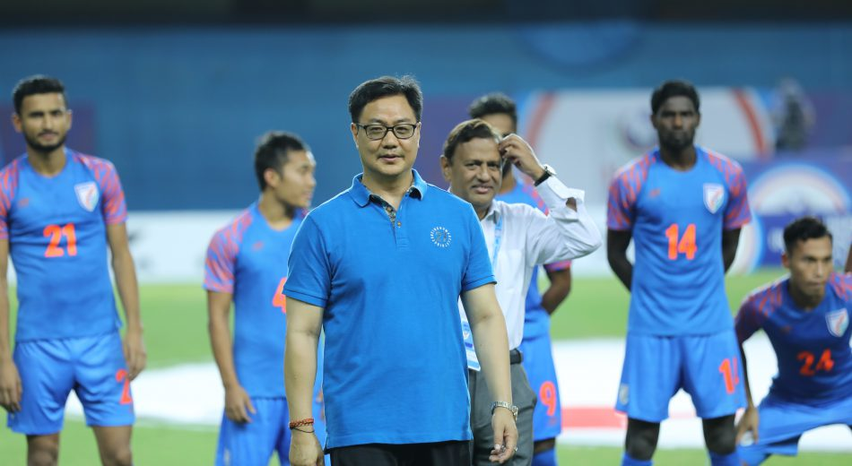 Shri Kiren Rijiju, Minister of State Youth Affairs & Sports and Minister of State for Minority Affairs stated that he is willing to provide extra financial help for Indian football wherever possible.