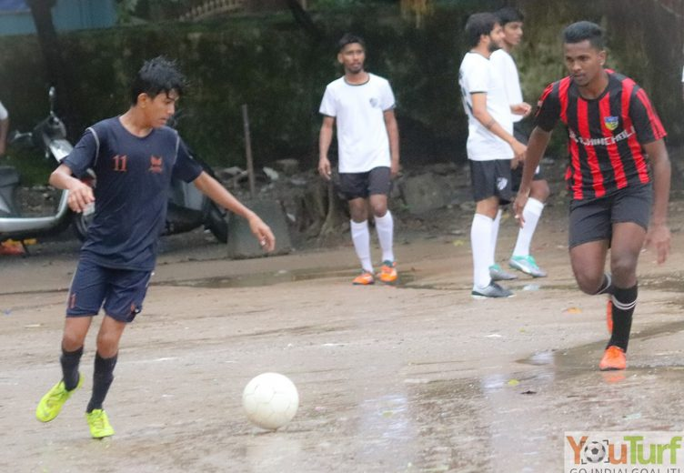 Jagdeep Singh's stunning first half free-kick turned out to be the winner while in other game, Vipul Gorai FC made short work of Teresarian (B)