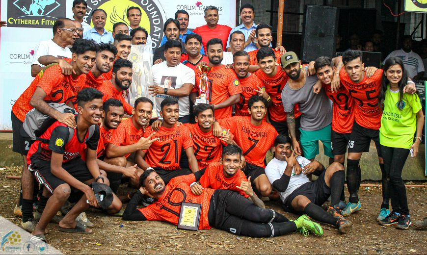 For the third time in the last three seasons, Fleet Footers FC outclassed Milan Club in the final of Borivali Premier League to make it hat-trick of title