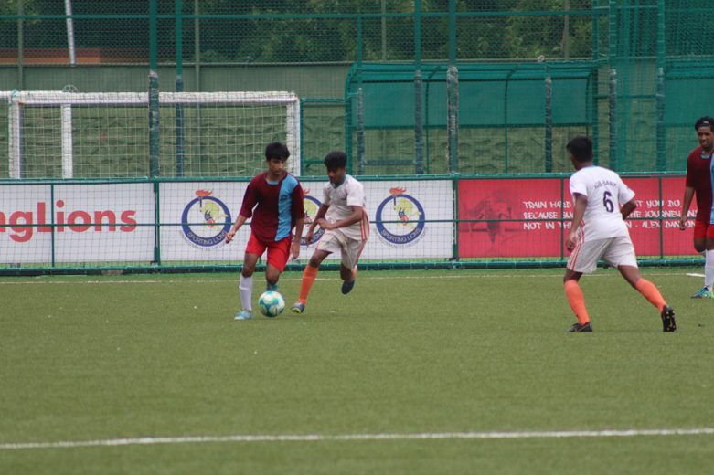 Mumbai, August 11:SVKM Football Club rode on the fine hat-trick from Siddhant Jangam to record a convincing 8-0 victory against Freunds FC