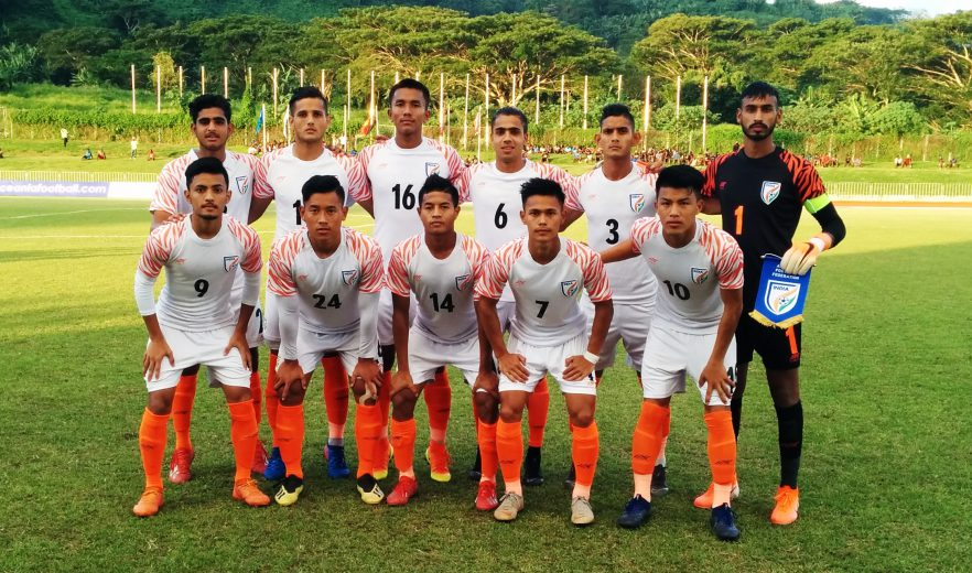 Sumit Rathi's (78') second-half strike from the top of the box earned India U19 National Team a 1-0 win against hosts Vanuatu in their opening fixture of the OFC Developmental Tournament 2019