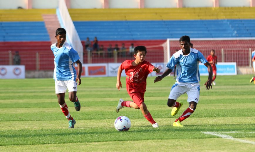 The Subroto Cup International Football Tournament – Asia's largest youth football tournament kicked off on 20thAugust 2019 at Dr. Ambedkar Stadium