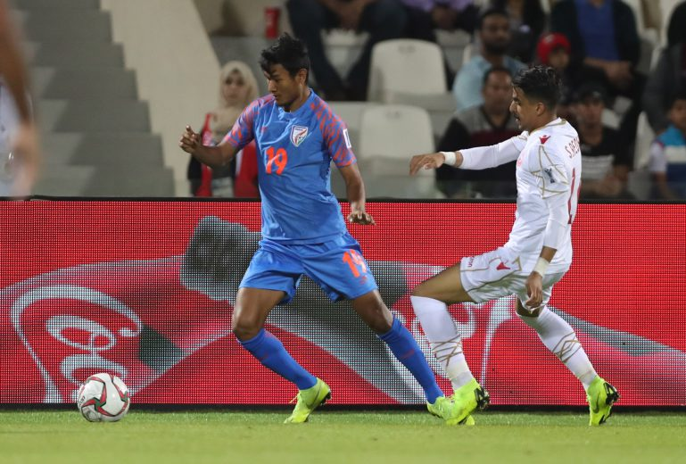 Besides the determination of making a mark in the National Team after coming back from a long injury lay-off, Assam's own Halicharan Narzary