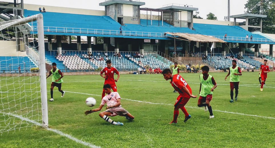 Day 5 of Subroto Cup 2019 in U14 Sub Junior Boys saw all northeast based schools,Mumbai's Reliance Foundation School and Afghanistan'sEstiqlal School notch up heavy wins.
