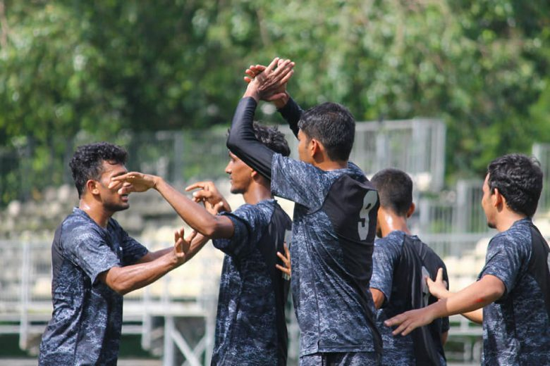 A late goal from Abhishek Bhopale help secure a point for FSI Sea view as they held Millat FC to 1-1 draw, meanwhile in the other game, HDFC outclass CBI.