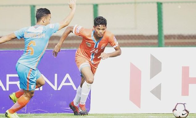 A young and lanky striker turned defender, Ranjeet Pandre is all set to ply his trade in the big leagues now.