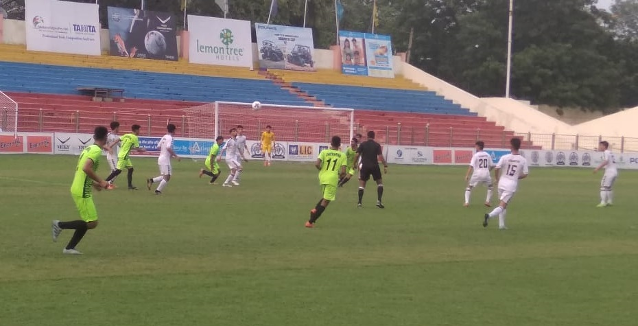On Day 1 of Subroto Cup International Football tournament in U17 junior Boys category there was impressive attacking football on display.