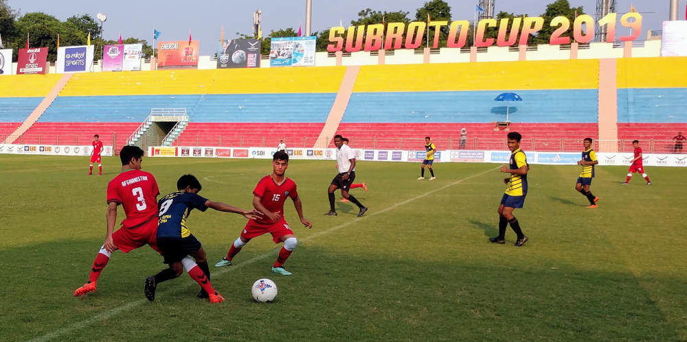 Day 2 of Subroto Cup