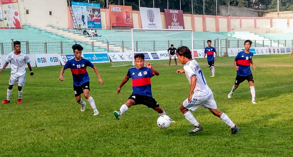 The goals kept coming by as Assam, Chandigarh schools win big on Day 4 of Subroto Cup International Football tournament U17 Junior Boys.