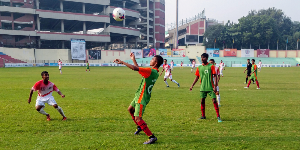 Day 5 of the Subroto Cup U17 Junior Boys International tournament had a lot of attacking flair on display, with a record for this year's tournament