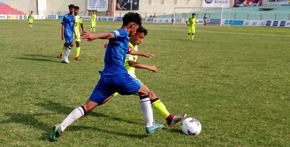 On Day 7 of the U17 Boys category in the Subroto Cup International Football tournament saw close contests in all four Quarter Final matches