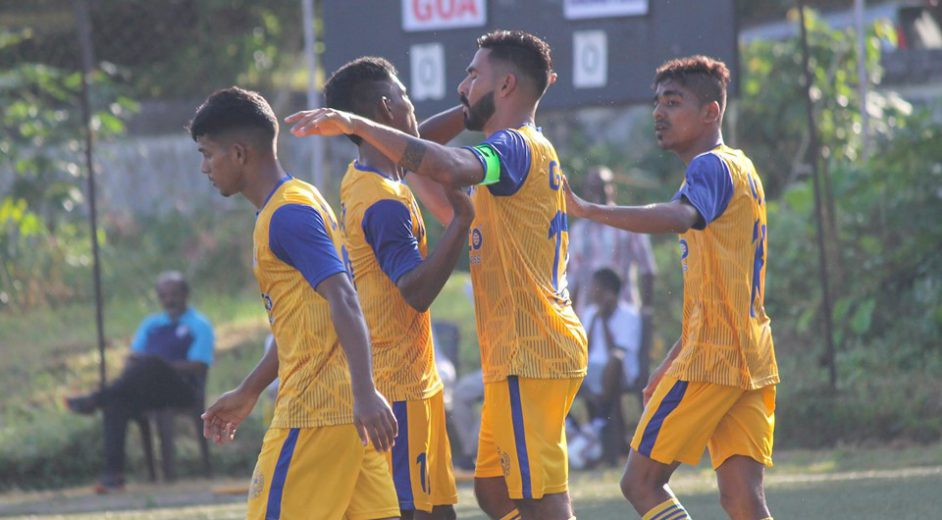 A brace from Joaquim Abranches gives Goa 2-0 win over Rajasthan while in other group encounter Madhya Pradesh thump Dadra & Nagar Haveli 4-0 on Day 2