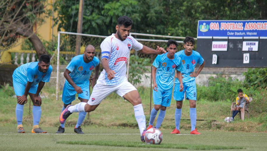 After an heartbreaking opening day loss, Daman & Diu bounced back in style with a 2-0 win over Gujarat while Maharashtra stun Lakshadweep 3-0 to go on top