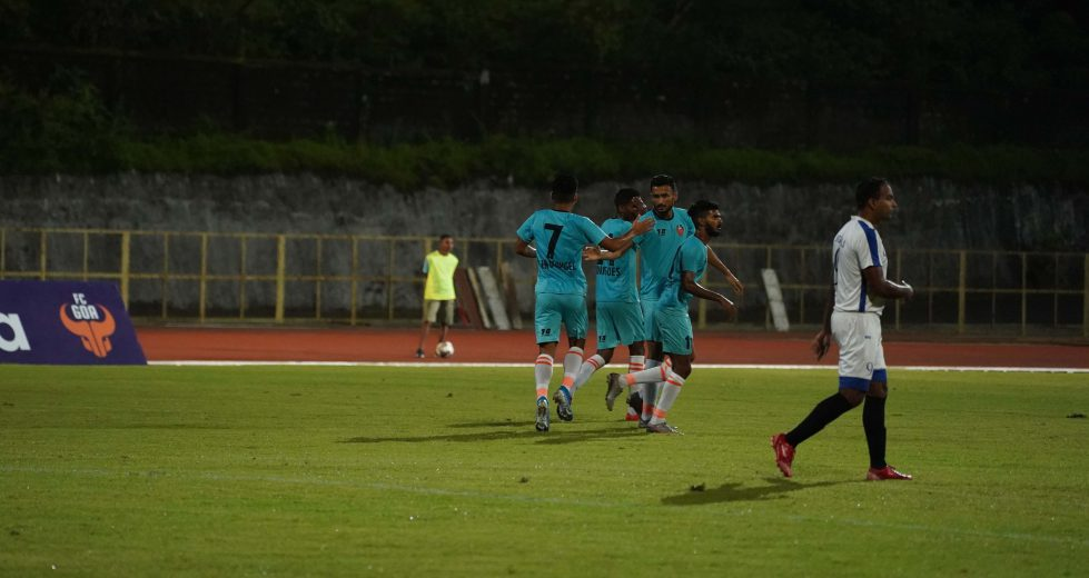 Striker Manvir Singh bagged a brace as the Gaurs eased to 5-1 victory over Signals of Corps in their third Pre-season friendly