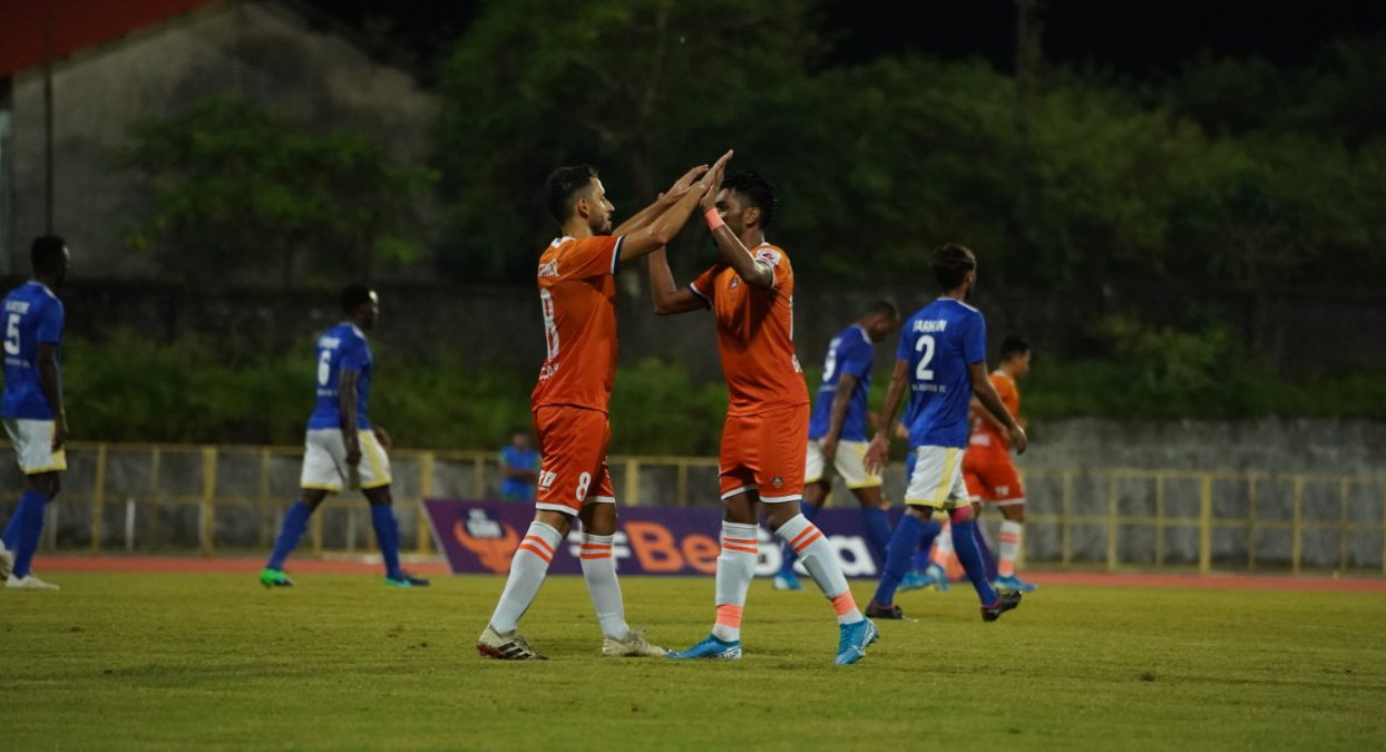 FC Goa and Real Kashmir played out a 1-1 draw at the Bambolim Athletic Stadium on Tuesday. Coro scored for FC Goa, while Bazie Armand equalized for Real Kashmir.