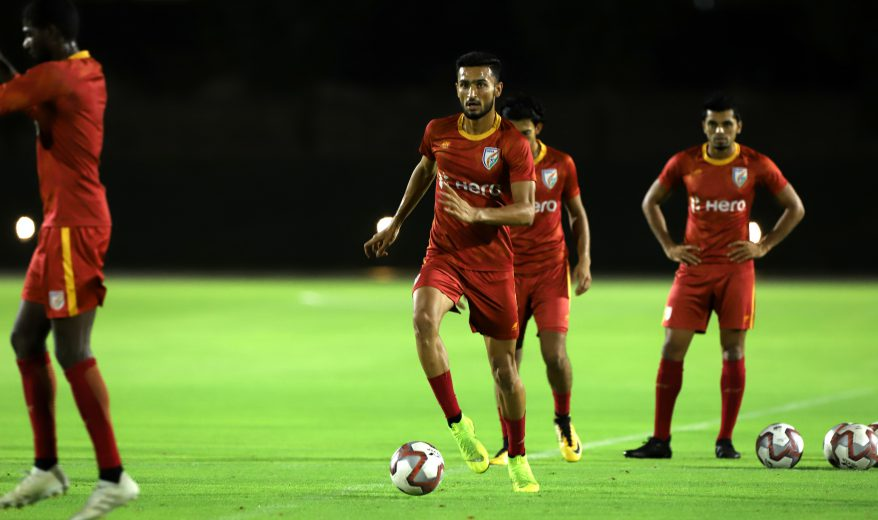 Manvir Singh, who played his heart out and earned plaudits for his exploits all over the pitch against Qatar last month, sounded confident as the Blue Tigers take on neighbouring country Bangladesh in the FIFA World Cup Qatar 2022 qualifier next Tuesday (October 15, 2019) in Kolkata.